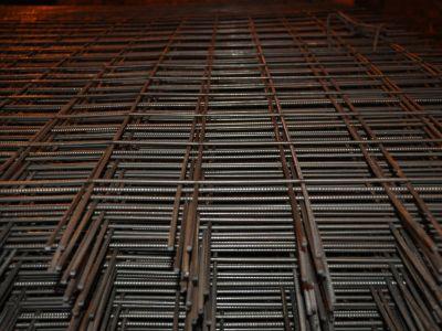 Сетка стальная 100х100х3 мм в картах