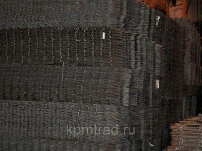 Сетка черная 50х50х3 мм