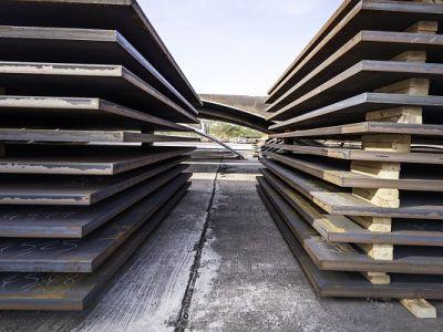 Лист стальной 70 мм сталь 09Г2С, 17Г1С