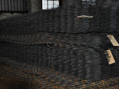 Сетка стальная 100х100х5 мм в картах