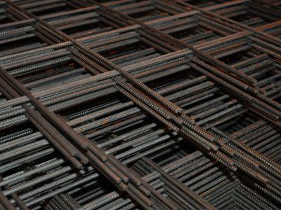 Сетка стальная 100х100х6 мм в картах