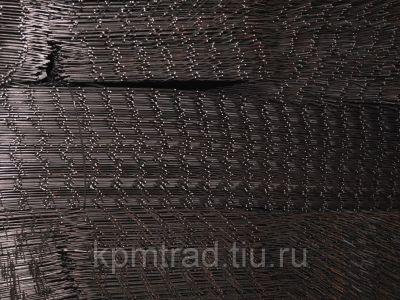 Сетка черная 150х150х4 мм
