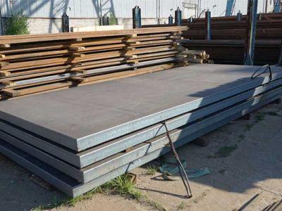 Лист стальной 80 мм сталь 09Г2С, 17Г1С