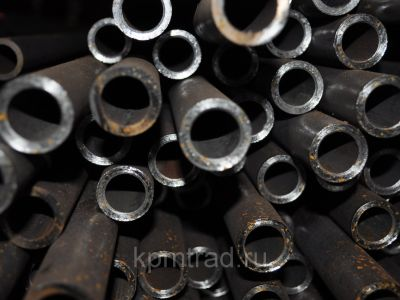 Труба бесшовная х/д ст.09Г2С  75х1.4 мм
