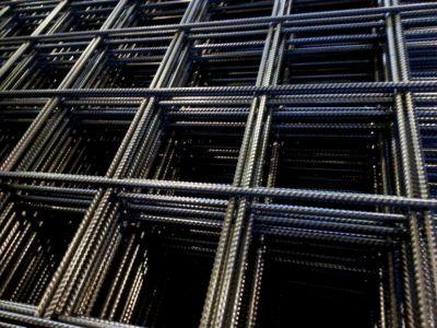 Сетка стальная 100х100х8 мм в картах